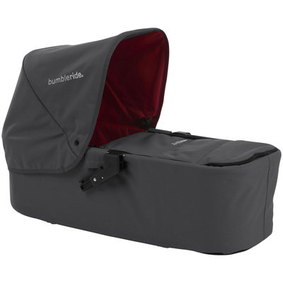 Bumbleride Indie Twin Carrycot - Fog Gray - 1 ct.