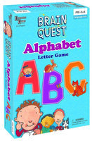 University Games Brain Quest Alphabet Letter Game