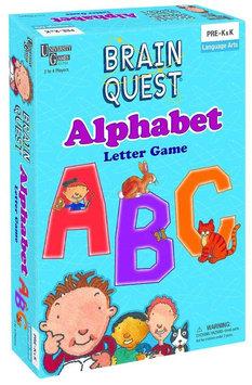 University Games Brain Quest Alphabet Letter Game