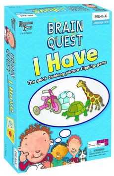 University Games Brain Quest I Have - The Quick Thinking Picture Flipping Game