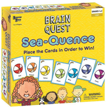 University Games Brain Quest Sea-Quence Game