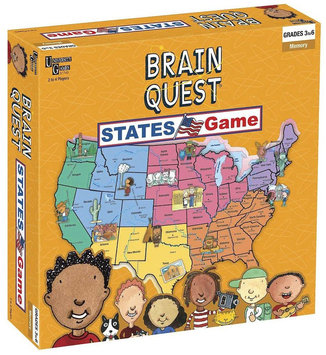 Brain Quest Brain Quest - States Game