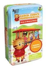 Daniel Tiger's Neighborhood Bingo & Memory Match Tin by University Games