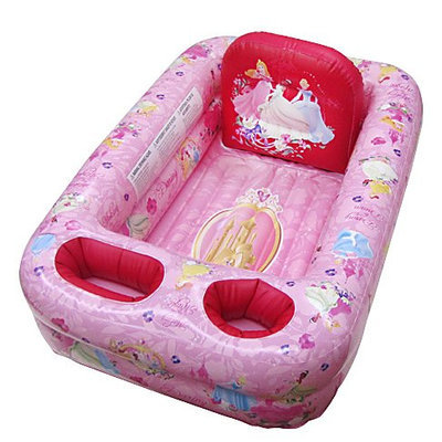 Ginsey Disney Princess Inflatable Safety Bathtub