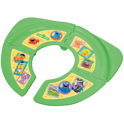 Ginsey Sesame Street Traveling/Folding Potty - Green - 1 ct.