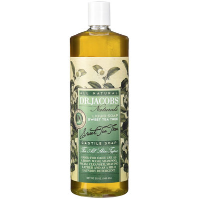 Dr. Jacobs Sweet Tea Tree Castile Soap 32 Oz.