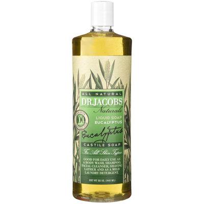 Dr. Jacobs Eucalyptus Castile Soap 32 Oz.