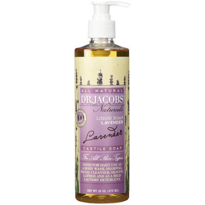 Dr. Jacobs Naturals - All Natural Liquid Castile Soap Lavender - 16 oz.