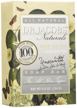 Dr. Jacobs Unscented Castile Bar Soap