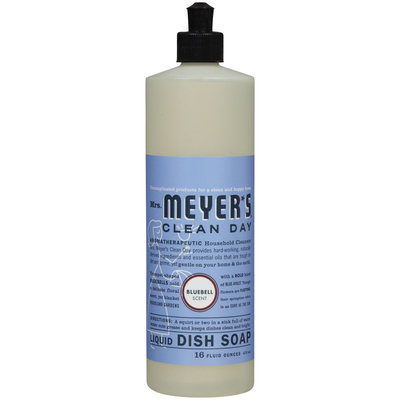 Mrs. Meyer's Clean Day Bluebell Liquid Dishwashing Soap