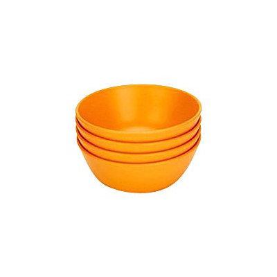 Green Toys Green Eats Snack Bowl, 4pk, Orange
