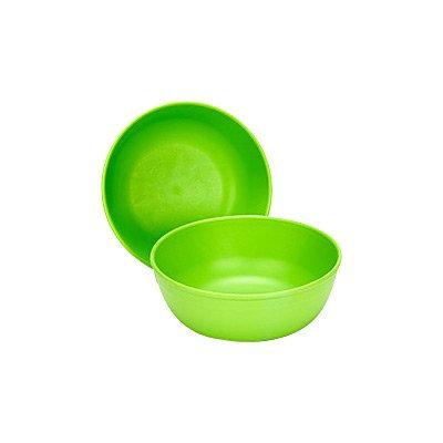Green Toys Green Eats Bowls, 2pk, Green
