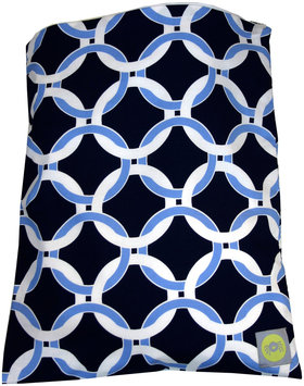 Itzy Ritzy Zippered Wet Storage Bag - Social Circle Blue