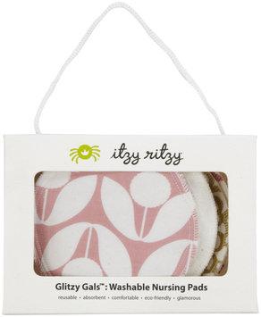 Itzy Ritzy 6-Pk. Glitzy Gals Washable Nursing Pads