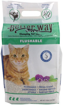 Ultra Pet Better Way Flushable Cat Litter