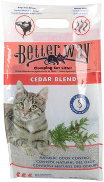 Ultra Pet Better Way Cedar Blend Cat Litter