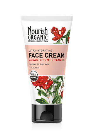 Nourish Organic™ Ultra-Hydrating Face Cream Argan + Pomegranate
