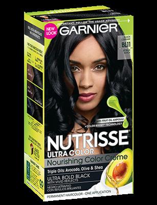 Garnier® Nutrisse® Ultra Color Nourishing Color Creme BL11 Reflective Jet Blue Black