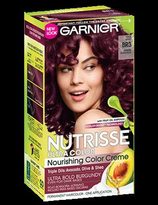 Garnier® Nutrisse® Ultra Color Nourishing Color Creme BR3 Intense Burgundy