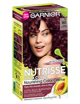 Garnier® Nutrisse® Ultra Color Nourishing Color Creme BR3 Intense Burgundy