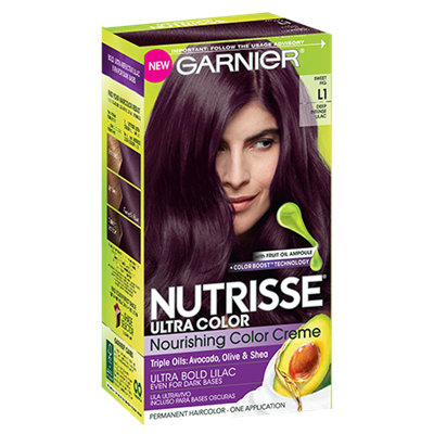Garnier® Nutrisse® Ultra Color Nourishing Color Creme L1 Ultra Bold Lilac
