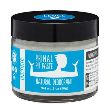 Primal Pit Paste™ Unscented Natural Deodorant Jar