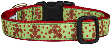 Up Country Gingerbread Man Dog Collar
