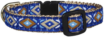 Up Country Aztec Blue Cat Collar