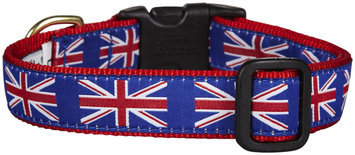 Up Country Union Jack Dog Collar