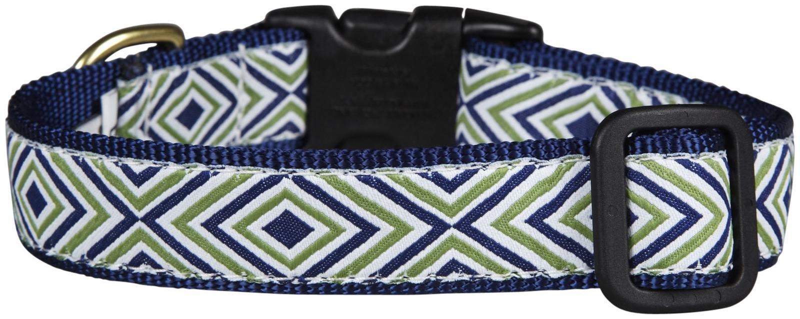 Up Country Diamond Stripe Dog Collar