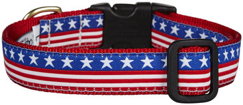 Up Country Stars and Stripes Dog Collar