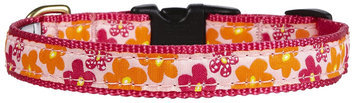 Up-country Inc Up Country Flower Power Dog Collar XS