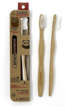 SenzaBamboo Eco-Friendly Ultra Soft Bamboo Toothbrush