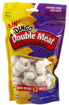 United Pet Group Dingo Mini Double Meat Bone Rawhide Chews