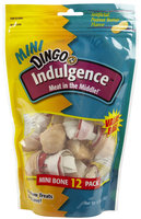 United Pet Group - Dingo - Dingo Indulgence- Peanut Butter Mini-6.35 Ounce - P-34203