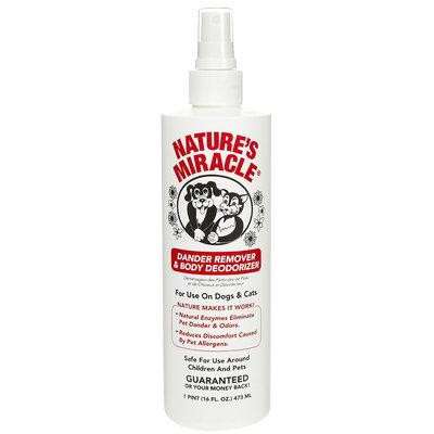 Nature's Miracle Dander Remover & Coat Deodorizer - 16 oz