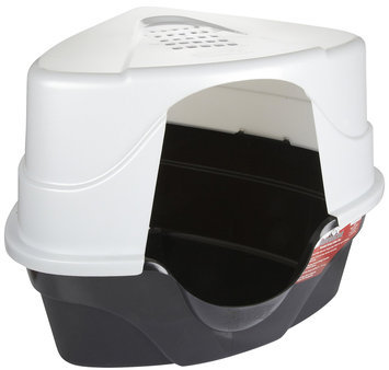 Nature's Miracle JFC Advanced Hooded Corner Litter Box