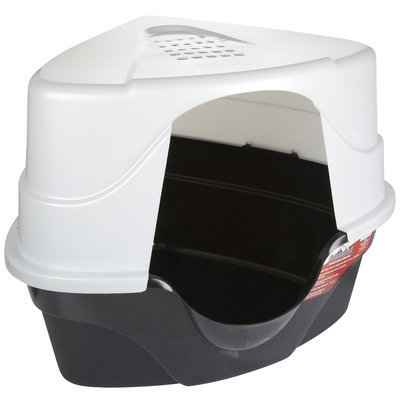 Nature's Miracle JFC Advanced Hooded Corner Litter Box