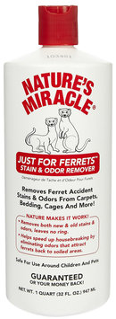 Nature's Miracle Just for Ferrets Stain & Odor Remover - 32 oz