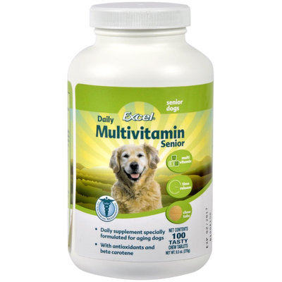 8in1 Excel Time Release Multi-Vitamin - Senior Dogs - 100 Tablets