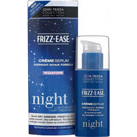 John Frieda® Frizz-Ease Creme Serum Transform Light Weight Overnight Repair Formula