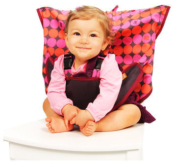 My Little Seat Travel High Chair - Pinky Buttons