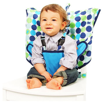 Babies R Us Travel High Chair - My Little Seat Biggy Buttons