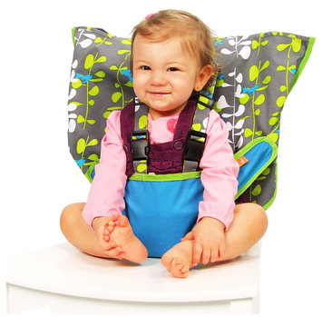 My Little Seat Travel High Chair - Blue Fish