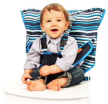 My Little Seat Travel High Chair - Hudson Stripes