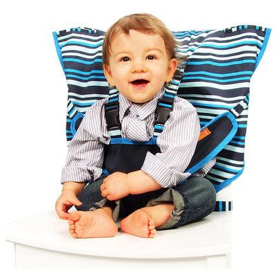 My Little Seat Travel High Chair - Hudson Stripes