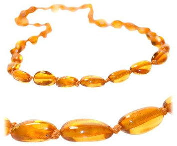 The Art of Cure Teething Necklace - Honey Bean - 1 ct.