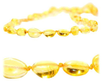 The Art of Cure Teething Necklace - Lemon Bean - 1 ct.