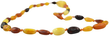 The Art of Cure Teething Necklace - Raw Multi Colored Bean - 1 ct.