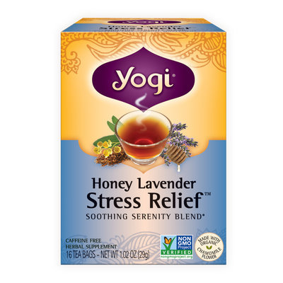 Yogi Tea Honey Lavender Stress Relief